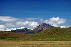 Βουνό ορεινών περιοχών στην οικολογική επιφύλαξη Antisana, Ecaudor Στοκ εικόνα με δικαίωμα ελεύθερης χρήσης
