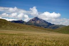 Βουνό ορεινών περιοχών στην οικολογική επιφύλαξη Antisana, Ecaudor Στοκ φωτογραφίες με δικαίωμα ελεύθερης χρήσης