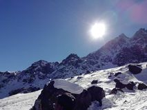 Βουνό πάγου στοκ φωτογραφία με δικαίωμα ελεύθερης χρήσης
