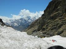 Βουνό πάγου Manali που φαίνεται τρομερό στοκ εικόνες με δικαίωμα ελεύθερης χρήσης