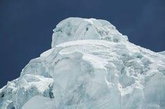 βουνό παγετώνων Στοκ Φωτογραφία