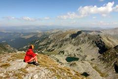 βουνό πεζοπορώ στοκ φωτογραφία με δικαίωμα ελεύθερης χρήσης