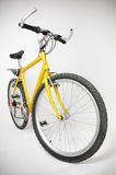 βουνό ποδηλάτων κίτρινο Στοκ εικόνες με δικαίωμα ελεύθερης χρήσης