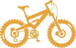 βουνό ποδηλάτων ελεύθερη απεικόνιση δικαιώματος