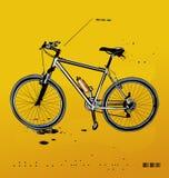 βουνό ποδηλάτων Στοκ εικόνες με δικαίωμα ελεύθερης χρήσης