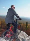 βουνό ποδηλάτων Στοκ Εικόνα