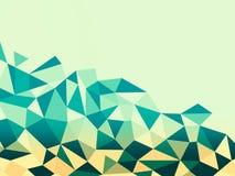 Βουνό πολυγώνων των τριγώνων ελεύθερη απεικόνιση δικαιώματος