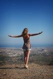 βουνό που στέκεται την κ&omicro στοκ φωτογραφίες με δικαίωμα ελεύθερης χρήσης