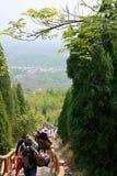 Βουνό προγόνων Xinzheng πρώτο στοκ φωτογραφίες με δικαίωμα ελεύθερης χρήσης