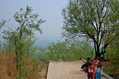 Βουνό προγόνων Xinzheng πρώτο στοκ εικόνα