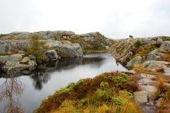 βουνό πρωινού Στοκ Εικόνες