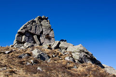 Βουνό δράκος-χελωνών Στοκ φωτογραφία με δικαίωμα ελεύθερης χρήσης