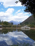 Βουνό δράκων στοκ εικόνες με δικαίωμα ελεύθερης χρήσης