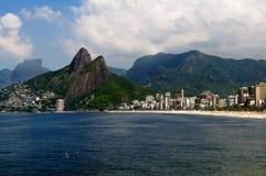 βουνό Ρίο janei irmao de dois leblon στοκ εικόνες με δικαίωμα ελεύθερης χρήσης