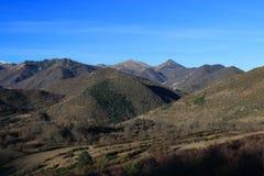 Βουνό σε Donezan, Πυρηναία Στοκ φωτογραφία με δικαίωμα ελεύθερης χρήσης