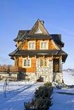 βουνό σπιτιών Στοκ φωτογραφία με δικαίωμα ελεύθερης χρήσης