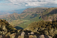 Βουνό στην Αιθιοπία. στοκ εικόνες