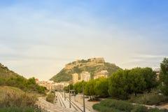 Βουνό στην Αλικάντε, Ισπανία Περιοχή της Βαλένθια στοκ φωτογραφίες με δικαίωμα ελεύθερης χρήσης