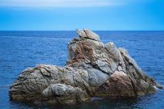 Βουνό στη θάλασσα Στοκ Φωτογραφία