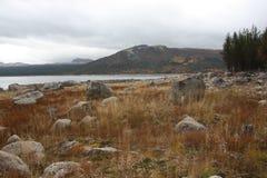Βουνό στη Νορβηγία Στοκ Εικόνες