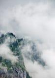 βουνό σύννεφων Στοκ εικόνες με δικαίωμα ελεύθερης χρήσης