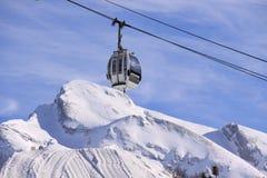 βουνό τελεφερίκ Στοκ εικόνα με δικαίωμα ελεύθερης χρήσης