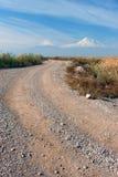 Βουνό της άποψης Ararat από την Αρμενία Στοκ Εικόνα