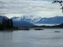 Βουνό της Αλάσκας Στοκ φωτογραφίες με δικαίωμα ελεύθερης χρήσης