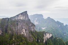 Βουνό της Κίνας Tianmen Shan Στοκ φωτογραφία με δικαίωμα ελεύθερης χρήσης