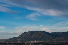 Βουνό της Cheyenne στοκ φωτογραφία με δικαίωμα ελεύθερης χρήσης