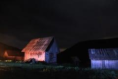 βουνό τοπίων αγροτικό Στοκ Φωτογραφίες