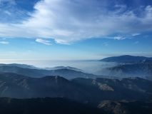 βουνό τοπίων Καλιφόρνιας στοκ φωτογραφία με δικαίωμα ελεύθερης χρήσης