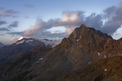 βουνό τοπίων Στοκ Φωτογραφία