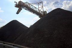 Βουνό του άνθρακα Στοκ εικόνες με δικαίωμα ελεύθερης χρήσης