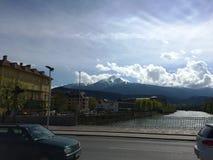 Βουνό του Ίνσμπρουκ, Αυστρία Στοκ εικόνα με δικαίωμα ελεύθερης χρήσης