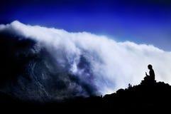 βουνό του Βούδα Στοκ φωτογραφίες με δικαίωμα ελεύθερης χρήσης