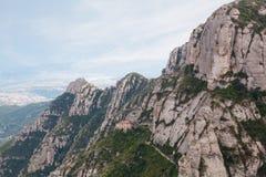 Βουνό του Μοντσερράτ Στοκ φωτογραφίες με δικαίωμα ελεύθερης χρήσης
