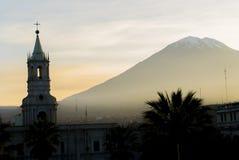 Βουνό του Περού Στοκ Φωτογραφία