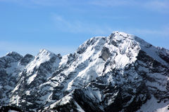 Βουνό του Σάλτζμπουργκ Στοκ Εικόνες