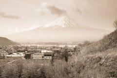 Βουνό του Φούτζι στην Ιαπωνία στοκ εικόνα με δικαίωμα ελεύθερης χρήσης