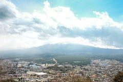 Βουνό του Φούτζι στην Ιαπωνία στοκ φωτογραφία με δικαίωμα ελεύθερης χρήσης
