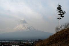 Βουνό του Φούτζι στην Ιαπωνία στοκ φωτογραφίες