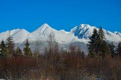Βουνό του χιονιού στοκ φωτογραφίες