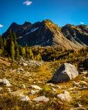 Βουνό το φθινόπωρο Στοκ Εικόνες