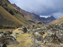 βουνό των Άνδεων Στοκ Εικόνες