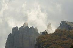 βουνό υδρονέφωσης Στοκ Εικόνα
