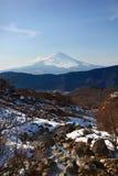 Βουνό Φούτζι σε Hakone στοκ εικόνες