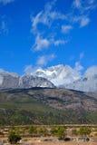 Βουνό χιονιού δράκων νεφριτών Στοκ εικόνες με δικαίωμα ελεύθερης χρήσης