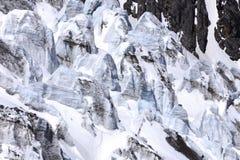 Βουνό χιονιού δράκων νεφριτών Στοκ Εικόνα