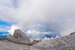 Βουνό χιονιού δράκων νεφριτών Στοκ φωτογραφίες με δικαίωμα ελεύθερης χρήσης